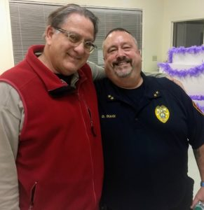 Town Hall with police chief informs and entertains - DOWNBEACH