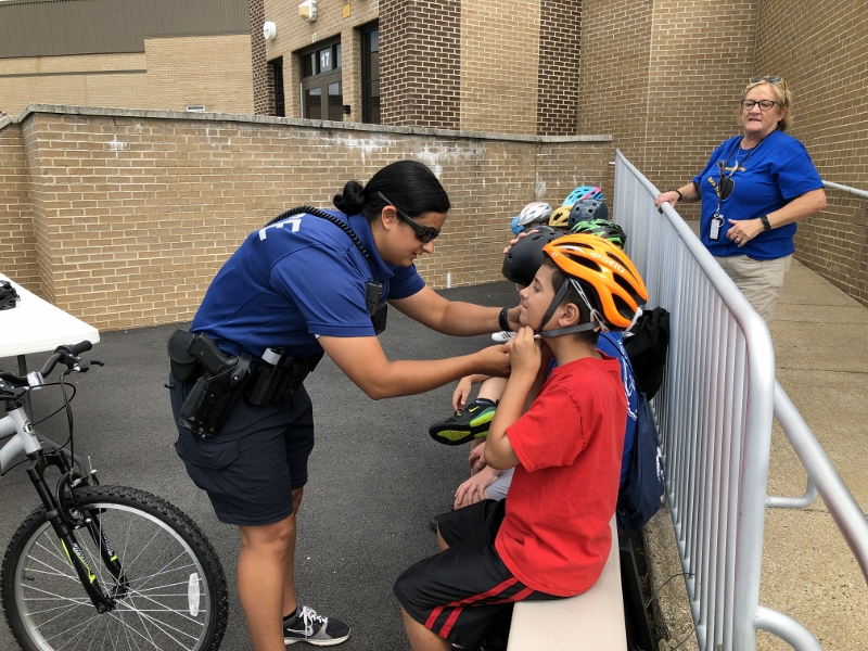 First-ever Bicycle Rodeo educates Margate students about
