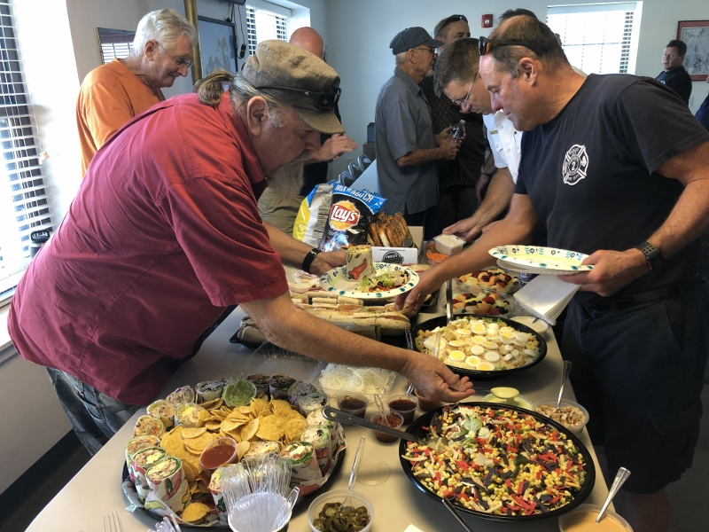 Margate Deputy Fire Chief Winneberger honored at retirement